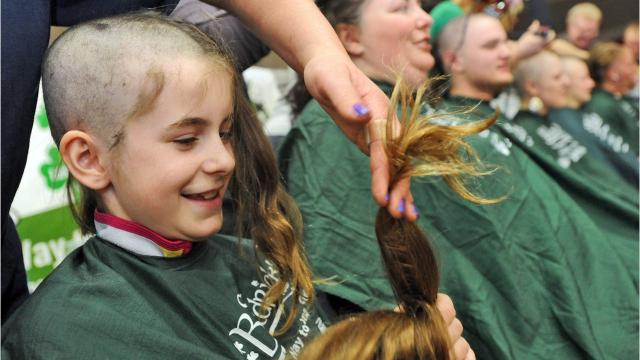 St. Baldrick's Foundation will hold its tenth annual head shaving, fundraising event from 1 to 3 p.m. March 25 in the gym at St. Mary's Springs Academy in Fond du Lac.