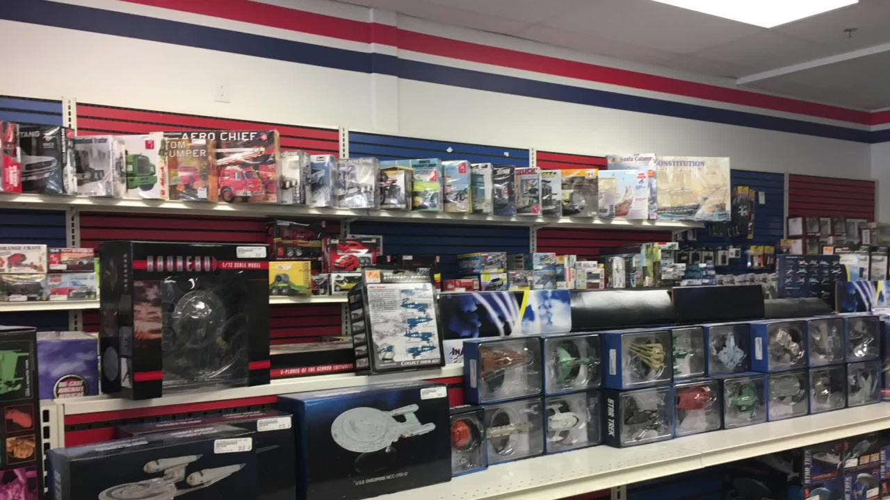 On March 1, Andy and Becky Roever took over the business Tom Larson started 22 years ago. They plan to continue offering models, radio-controlled vehicles, puzzles, games, supplies and more at the shop in Ashwaubenon.  (March 1, 2018)