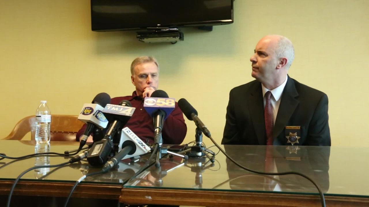 Dennis Brantner post sentencing press conference