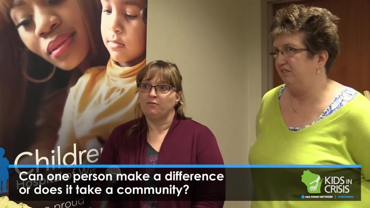 Attendees from the Kids in Crisis Manitowoc Town Hall give their thoughts about the night's event.