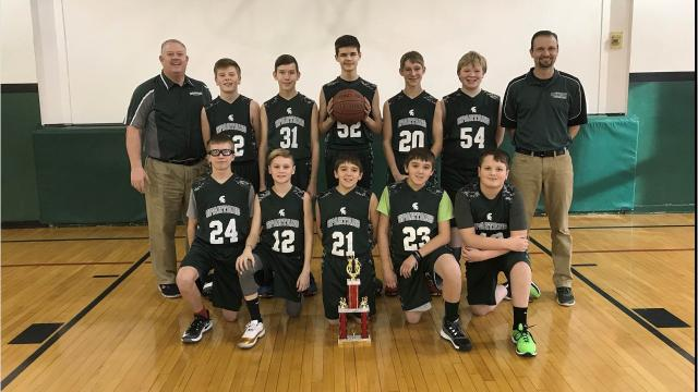Immanuel Lutheran School which has just 113 students was selected for the  State Lutheran Grade School Tournament of Champions, March 2-4 held at Concordia University in Mequon.
