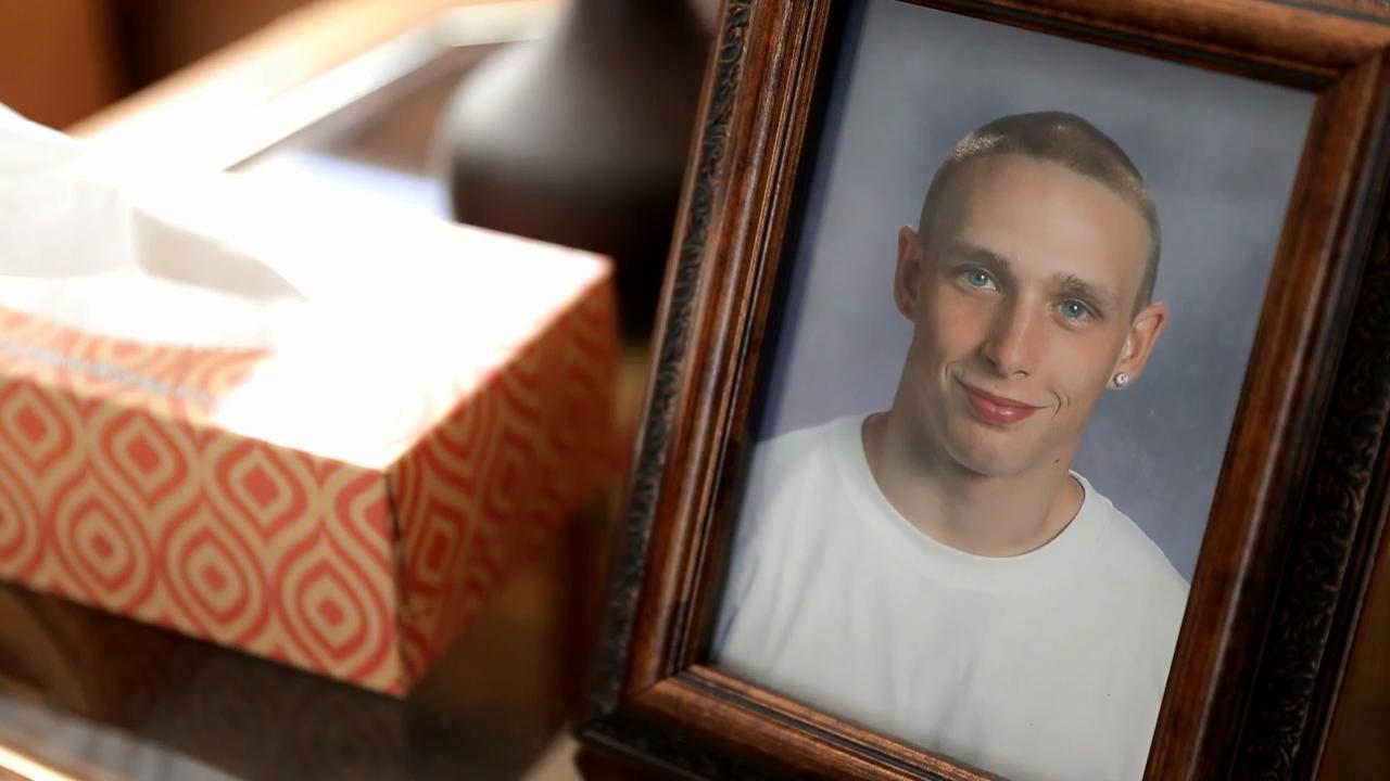 Ryan Riebe has been missing since December 2017. His father, Terry, says Ryan may have fallen through the ice on the East River in Green Bay, but he won't stop looking for his son until he knows for sure.