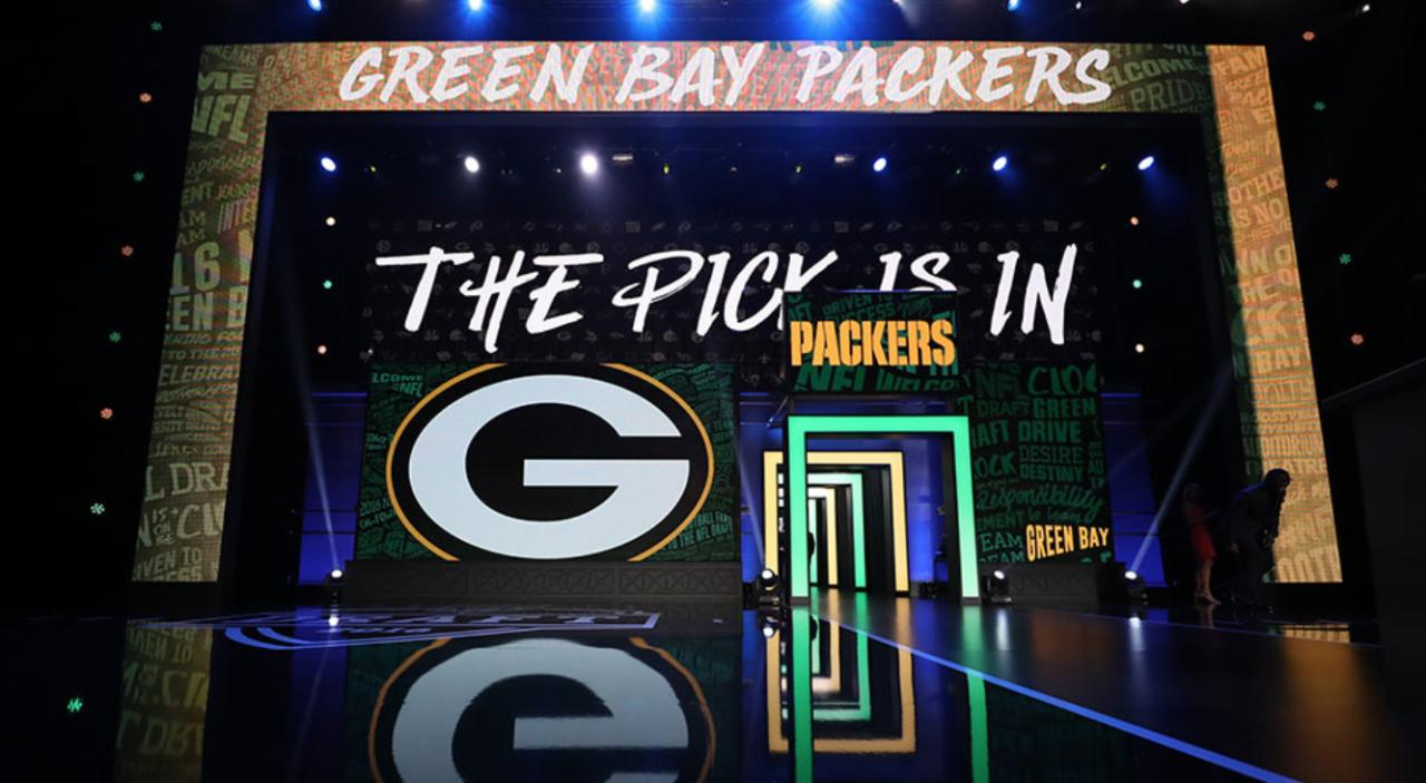 Ryan Wood speaks to Aaron Nagler about the choices facing the Packers with the 14th overall pick in the NFL draft. (March 5, 2018)