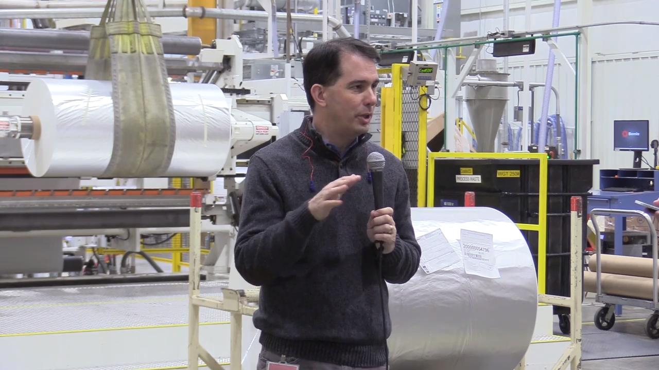 Governor Scott Walker talked about the steel and aluminum tariff that President Donald Trump wants to implement and how Walker is opposed to the tariff because it would hurt Wisconsin business.