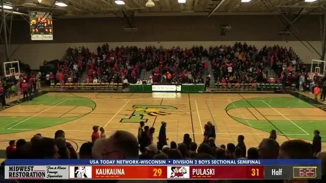 The Ghosts and Red Raiders clash in a WIAA Division 2 boys basketball sectional semifinal. The USA TODAY NETWORK-Wisconsin's Ricardo Arguello, Brett Christopherson and Jim Rosandick bring you live coverage from Green Bay Preble High School.
