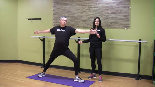 Yoga for seniors: Warrior sequence