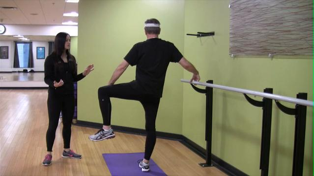 Yoga for seniors: Balance sequence