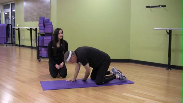 Yoga for seniors: Mat sequence