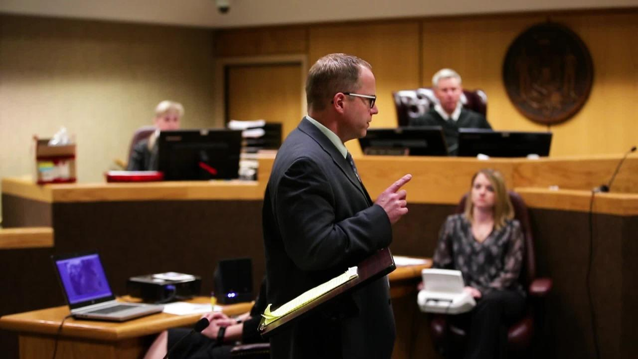 A short selection from Deputy District Attorney Scott Ceman's closing argument during the fifth day of Brian T. Flatoff's trial Friday, March 9, 2018, at the Winnebago County Courthouse in Oshkosh, Wis.