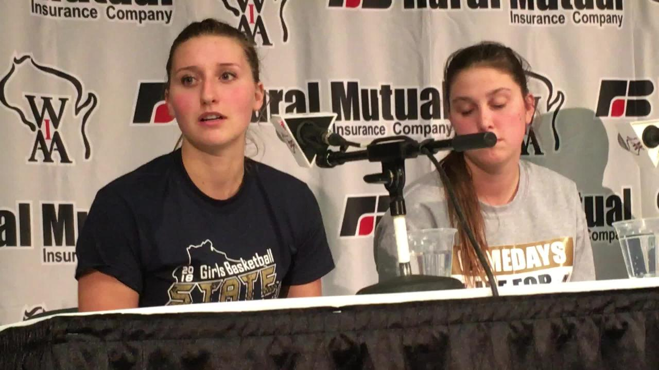 Appleton North senior guard Sydney Levy talks about how the Lightning's season came together and how the team has progressed over the past three years.