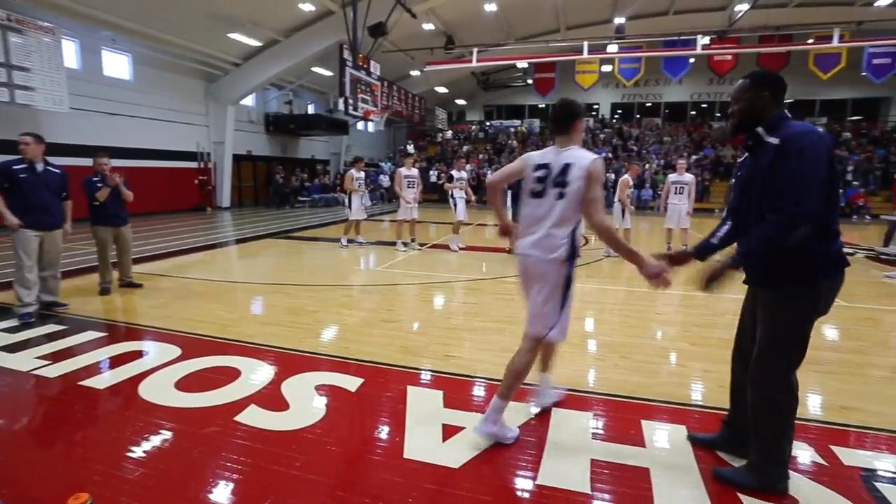 Roncalli won in Waukesha following a tight game against The Prairie School.  Here are some moments from the final moment during the game.