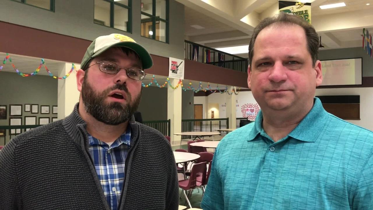More than 100 people gathered March 10 at Preble High School to discuss school safety. The talk was hosted by the Green Bay School District and the Green Bay Police Department.