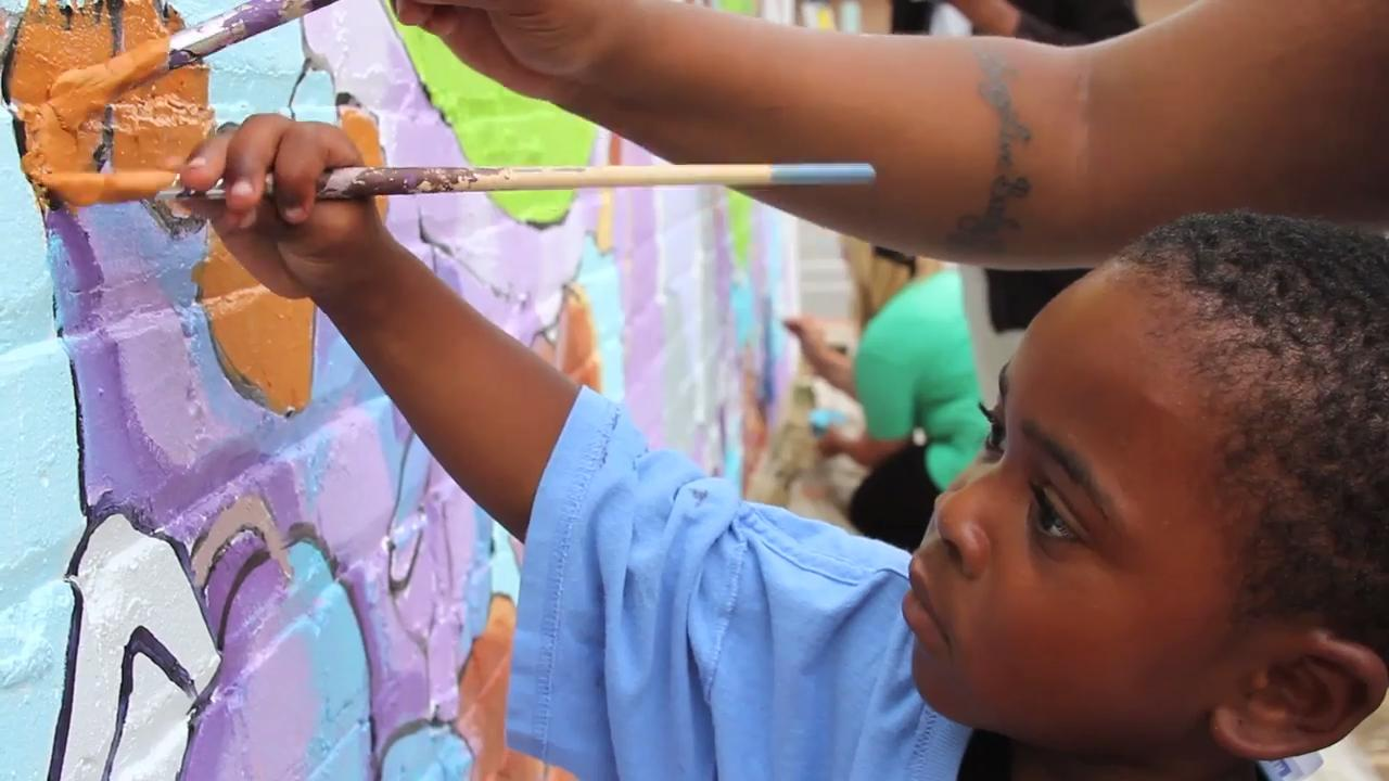 """""""Sherman Park Rising"""" is a short documentary directed by Milwaukee artist Tia Richardson and filmmaker Andrew Gralton"""