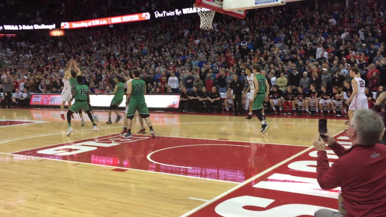 Oshkosh North holds on for victory as Hamilton's final shot misses in a WIAA Division 1 state semifinal game Friday at the Kohl Center in Madison.