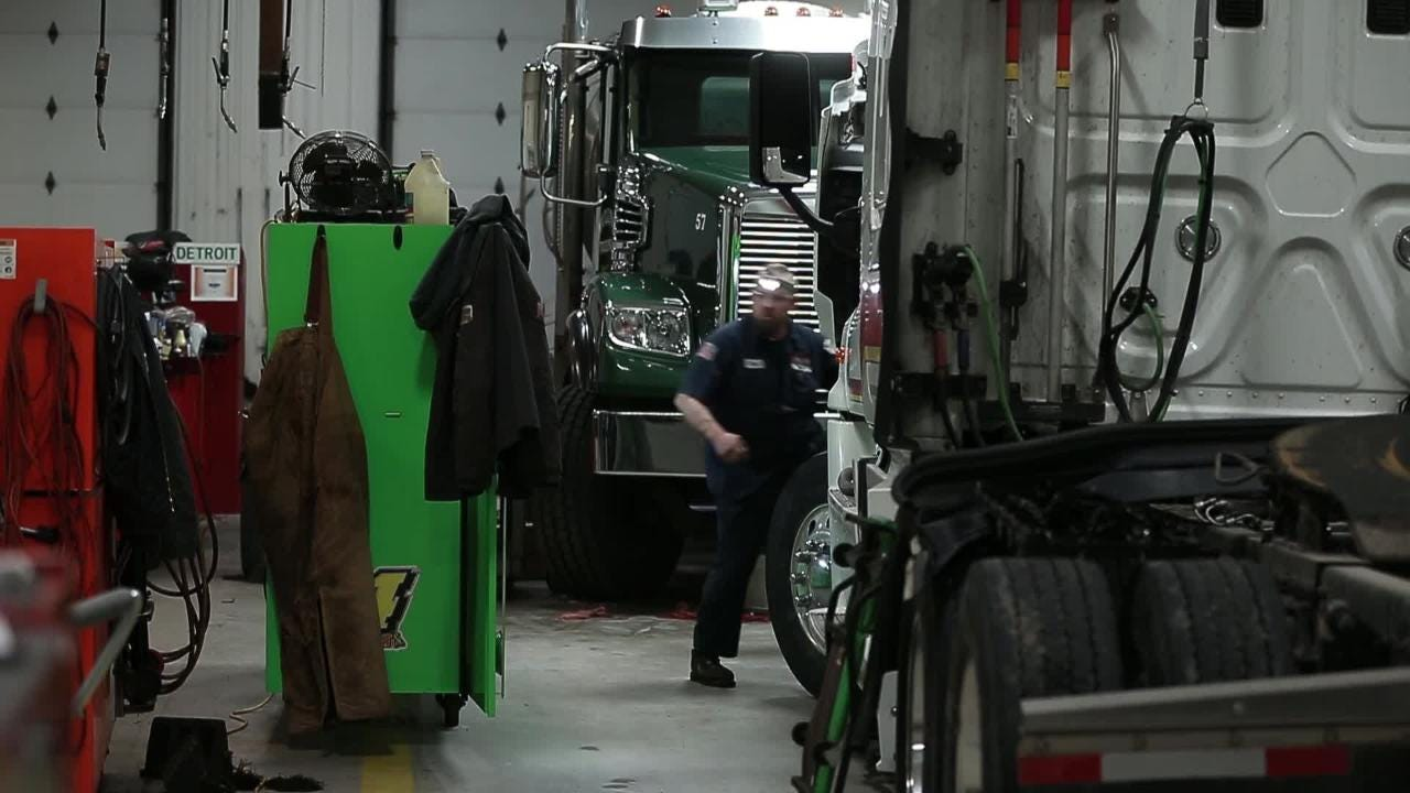 Diesel mechanics solve problems, and they are in demand