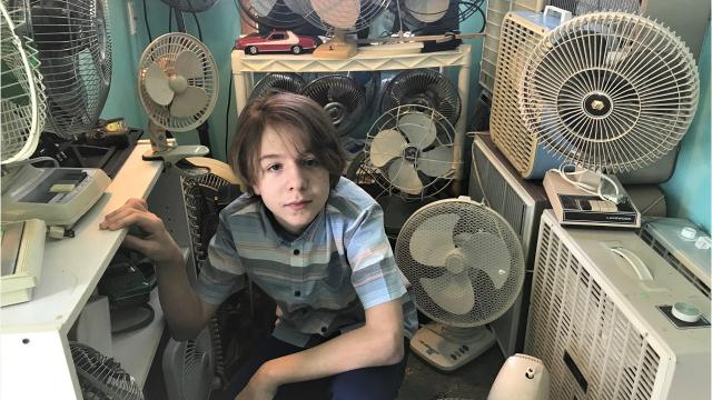 Reece Umbreit, a 13-year-old middle school student in North Fond du Lac, Wisconsin, has made a name for himself as one of the world's leading experts and collectors of fans. The teen has 400 fans and counting and some of his finds are on display at the Fanimation Museum in Zionsville, Indiana.