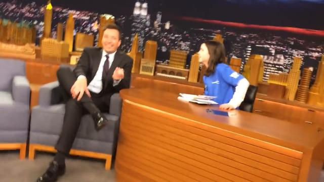Appleton 11-year-old Maggie Hendrick met Jimmy Fallon in New York City on March 20, 2018 thanks to Make-A-Wish Wisconsin. Maggie was diagnosed with leukemia when she was 6 years old.
