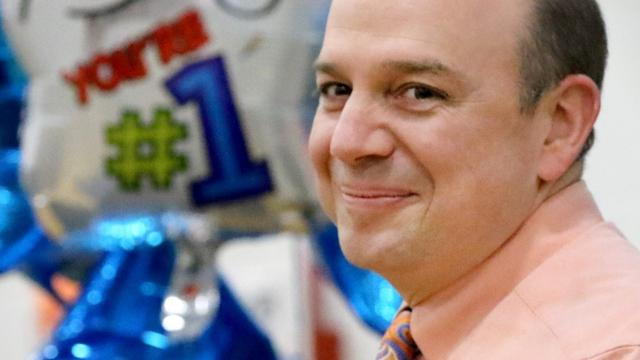 Video: Scott Walter named principal of the year