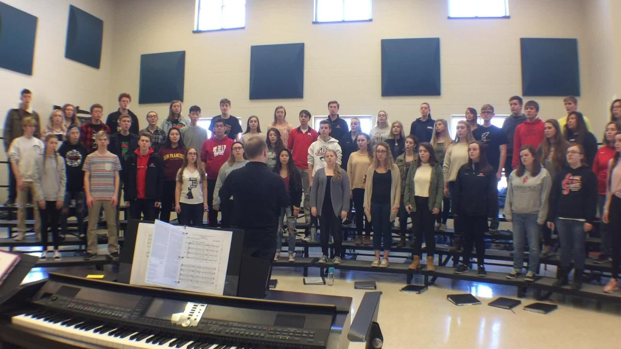 The Kimberly High School concert choir is headed to Carnegie Hall to sing with Grammy Award-winning composer and conductor Eric Whitacre.