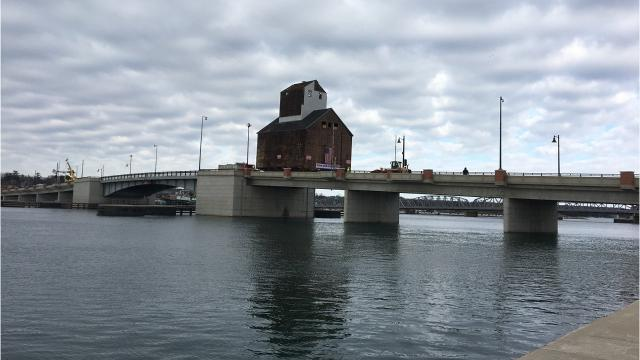 The 117-year-old granary was moved via remote control. Weighing close to 300,000 pounds , the granary moved inches in a minute.