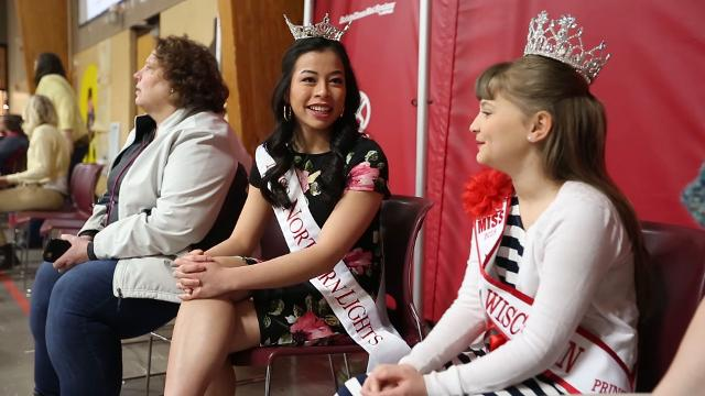 Local title holders speak about their experiences competing in local Miss America organization pageants in Wisconsin.