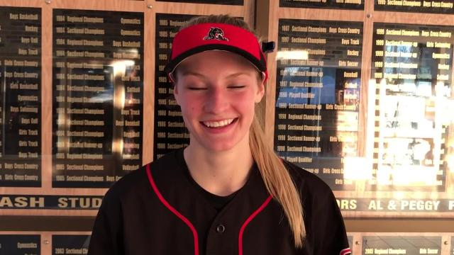 SPASH senior outfielder Ally Miklesh, a University of Wisconsin recruit, has made things happen at the top of the batting order for the Panthers throughout her entire high school softball career.