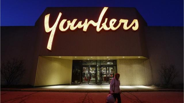 The Younkers store at Marshfield Mall is one of 12 stores across the state in danger of closing if Bon-Ton Stores Inc. does not resolve its financial problems, the company said Friday, April 6.