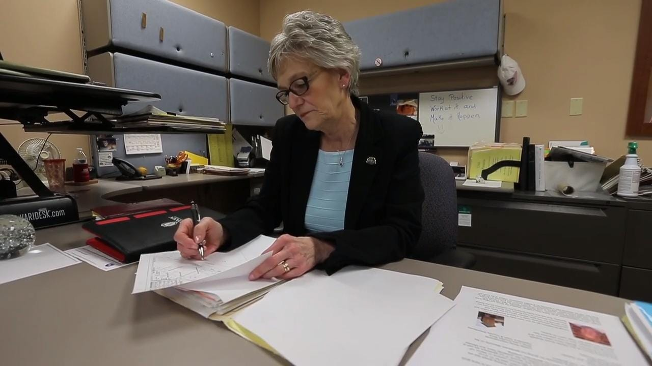 Judy Goodchild talks about her 24-year career with the Two Rivers Parks and Recreation Department.