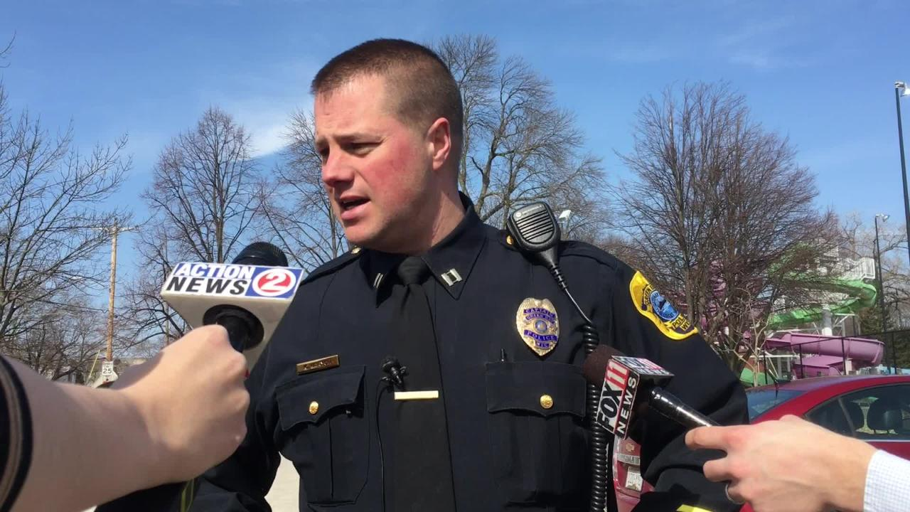 Green Bay police Capt. Kevin Warych said authorities have arrested three suspects in connection to a report of gunfire Wednesday afternoon in the 900 block of Shawano Avenue. One suspect remains at large. No injuries were reported.