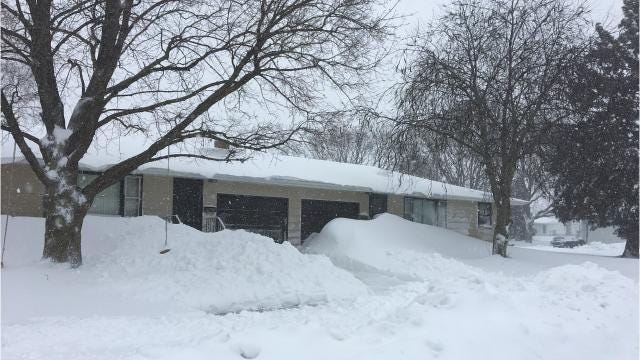 Reports of roof collapses following a storm that dropped two feet of heavy snow have many people looking up - should you be worried?