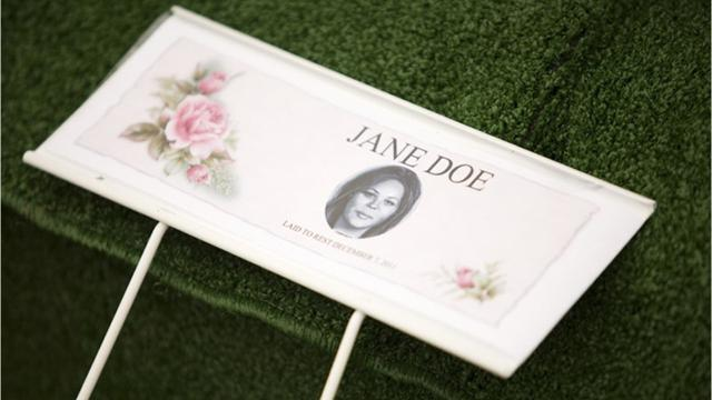 Fond du Lac County's only Jane Doe was buried in Cattaraugus Cemetery in Waupun on Dec. 7, 2011. Now, authorities plan to exhume her body so her bones may be tested in an effort to learn her origins.