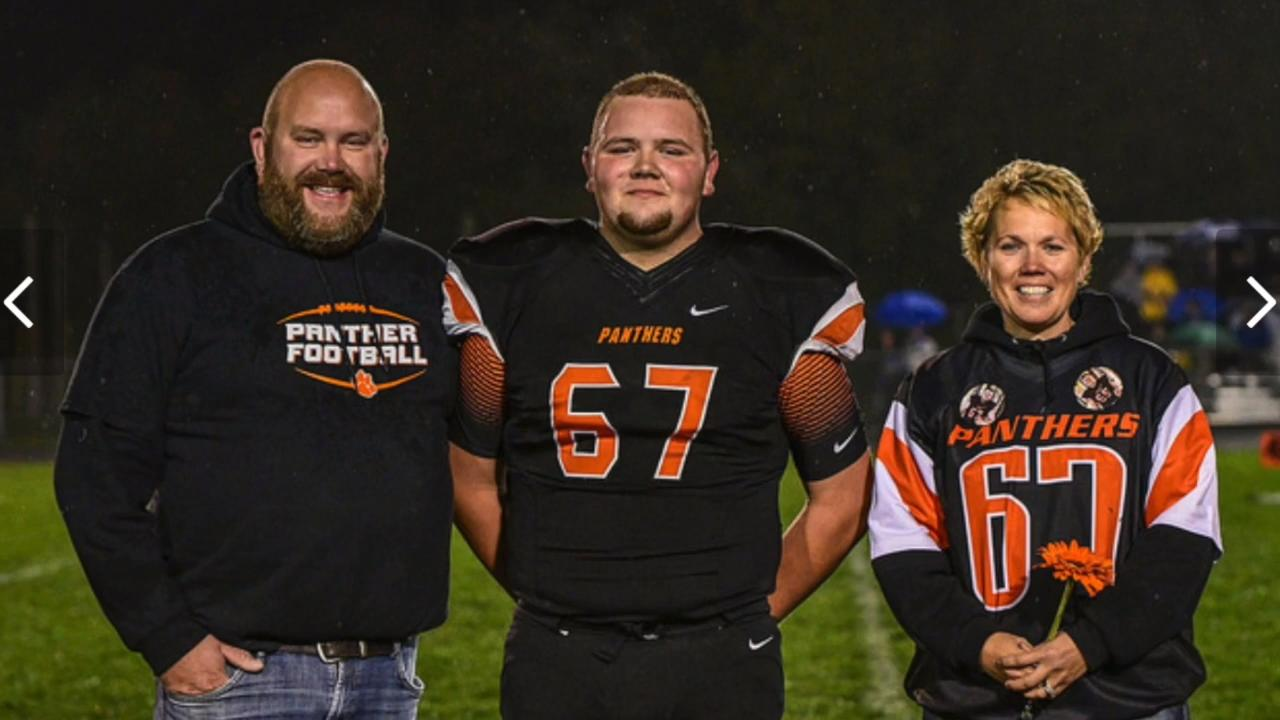 Plymouth's Bryce Ladwig almost didn't get to live out his passions of football and farming when illnesses including cancer struck him as a child. Ladwig has endured many treatments and surgeries that eventually brought him back into the game of life.