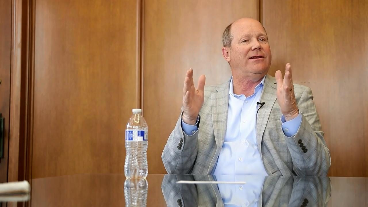 Former U.S. Representative Reid Ribble rarely labels himself as a Republican anymore. Now he calls himself a conservative American  and votes not according to party, but similar ideals and a person's character.