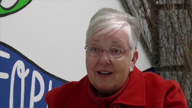 Nancy Heykes, 2018 Community Service award recipient