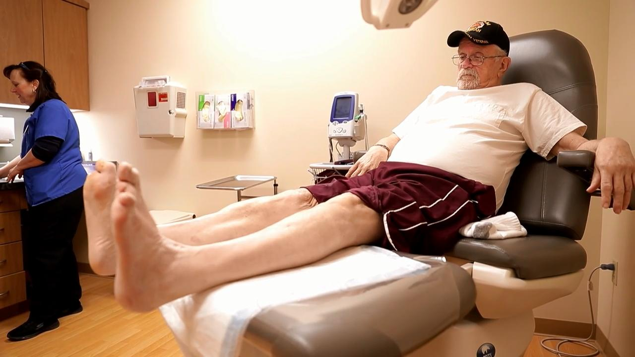 The goal of staff members at Agnesian HealthCare Wound Care Center in Fond du Lac is to determine the right treatment for stubborn wounds and get patients back to their normal lives.