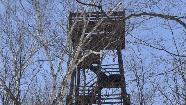 More than 50 people attended a DNR meeting May 1 where officials described the decay and deterioration that was found on the Potawatomi State Park observation tower.