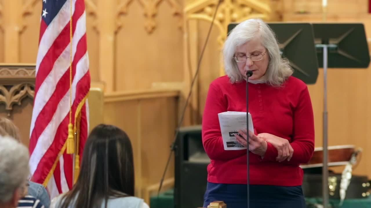 Sheboygan participated in the observance of the 67th annual National Day of Prayer at Fountain Park United Methodist Church in Sheboygan, Wis. People and clergy offered prayers of peace for our world, our nation and our leaders.