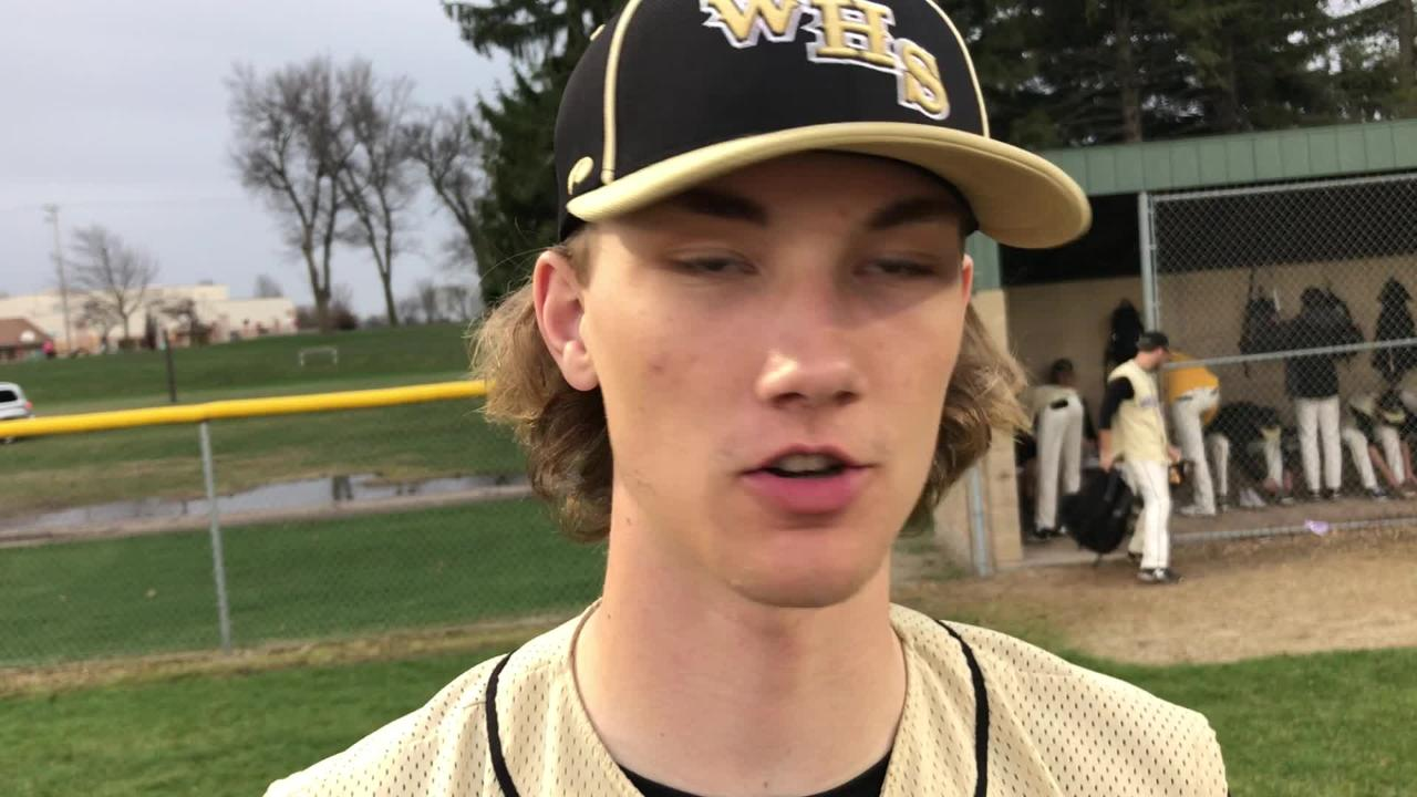 Reece Homan struck out seven in six innings of work and went 2-for-3 with a home run to help Waupun top rival Ripon, 3-1, on Thursday, May 3.