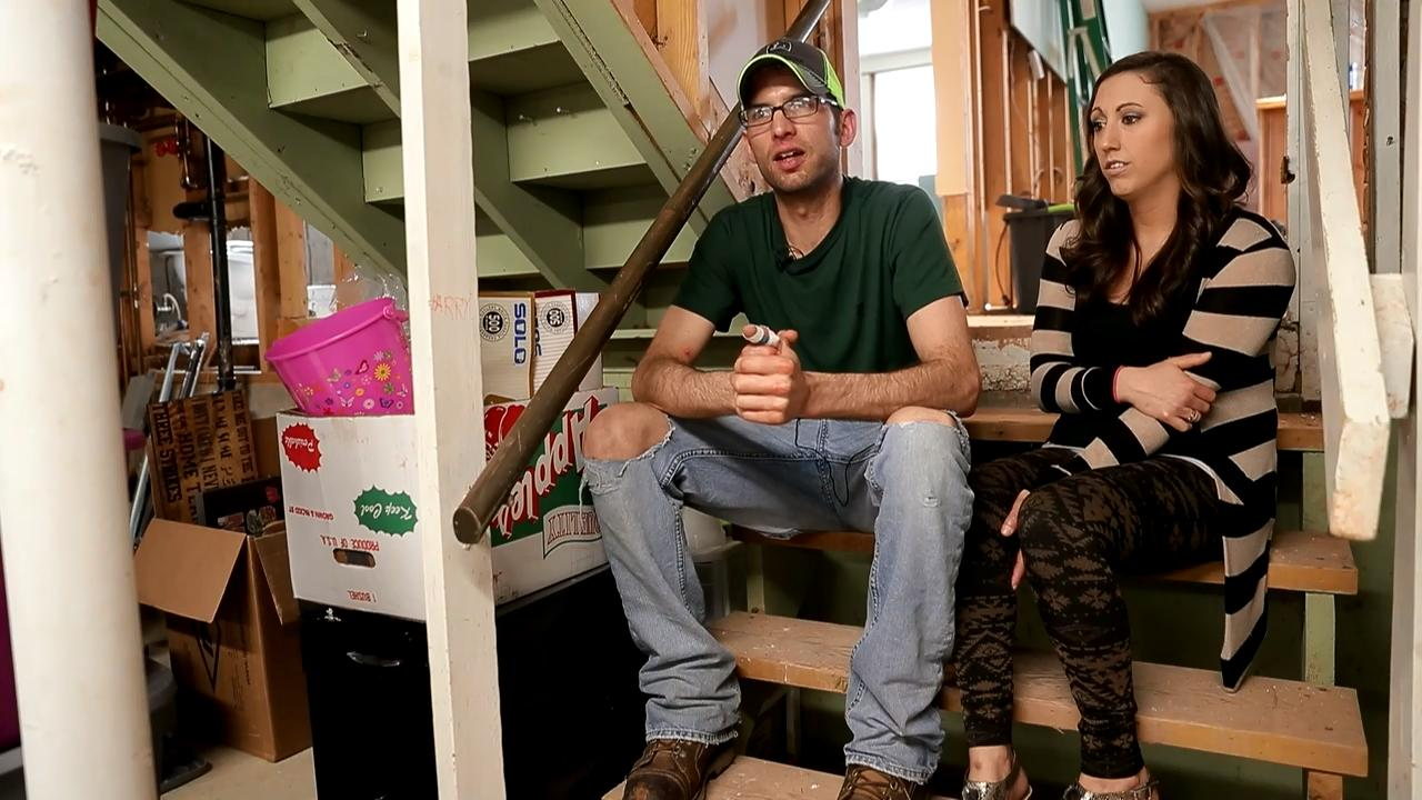 Matt and Brooke Sorenson say they're facing thousands of dollars in repair costs after a water main break near their Green Bay home resulted in their basement filling with 55 inches of water.