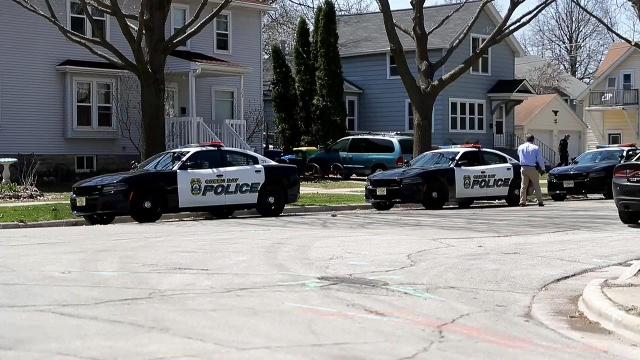 Police received a report  at 11:53 a.m. May 7, 2018 of gunfire near North Maple Avenue and Elmore Street in Green Bay, Wis.
