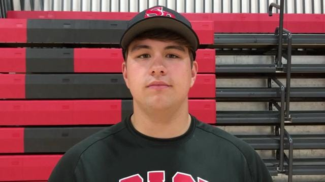 SPASH senior Cole Wright shares a passion for the outdoors along with football and baseball. He's hitting .395 with two home runs and 17 RBI for the Panthers, who are 10-2 overall and 6-1 in the Wisconsin Valley Conference.