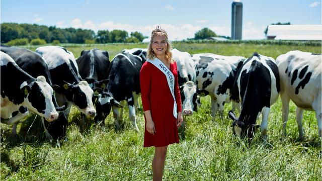 Wisconsin's 70th Alice in Dairyland Crystal Siemers-Peterman has been busy this past year.