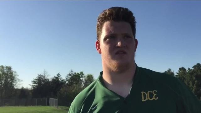 The Evergreens veteran talks about his strong spring performance, his mindset for the spring and competing in the WIAA state track meet.