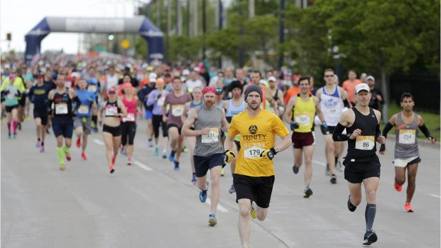 Thousands of runners from near and far took part in this year's Cellcom Green Bay Marathon.