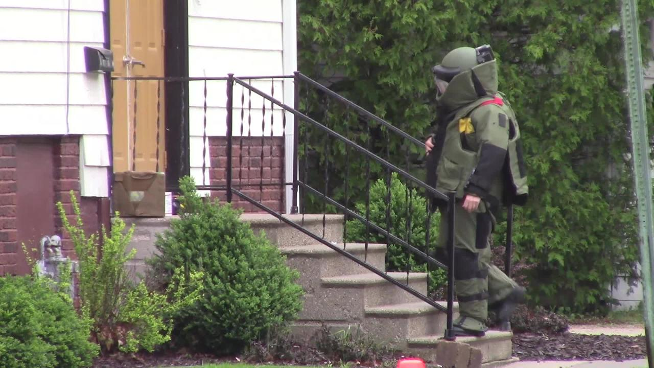 Fond du Lac Police got assistance from the Outagamie-Brown County Bomb Squad to investigate a package left on the Bread of Life church in Fond du Lac.
