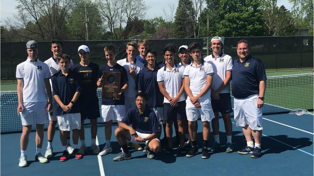 The Hilltoppers won the Greendale Sectional Wednesday to advance to the state team tournament for the 12th straight year.
