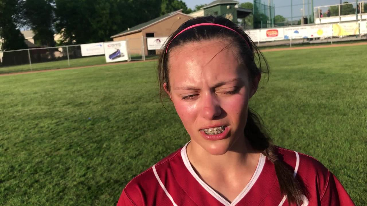 Fond du Lac's Abby Freismuth scattered eight hits and struck out six in leading the Cardinals to a 5-3 win over top-ranked Oshkosh North on Thursday.