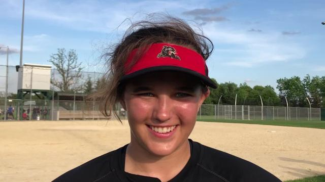 Senior pitcher Andrea Cherney was instrumental in sending second-ranked SPASH into Division 1 sectional semifinal play. Cherney tossed a one-hitter and drove in five runs in a 14-0 regional win over Eau Claire Memorial on Thursday.