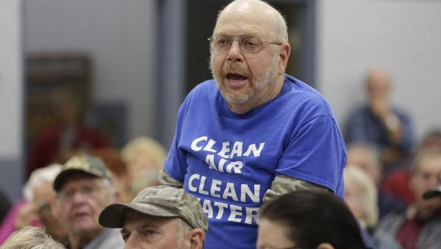 Nearly 200 citizens asked questions and listened to answers about Golden Sands Dairy, a proposed large-scale farm in Saratoga.