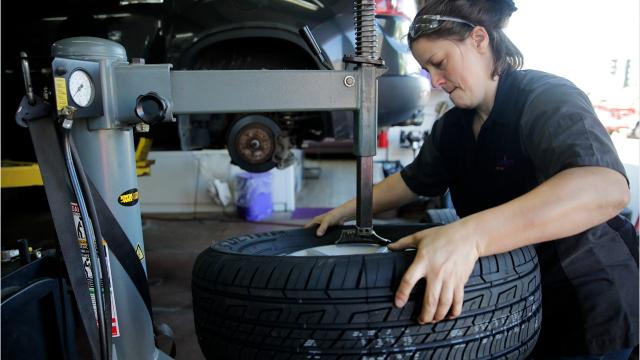 The women of JumpStart Auto are looking to spark change. (Mica Soellner/USA TODAY NETWORK-Wisconsin)